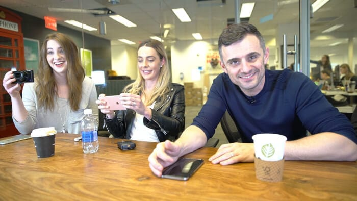 Episode 191 of the #AskGaryVee Show with Lauryn Evarts from the Skinny Confidential and Sara Dietschy